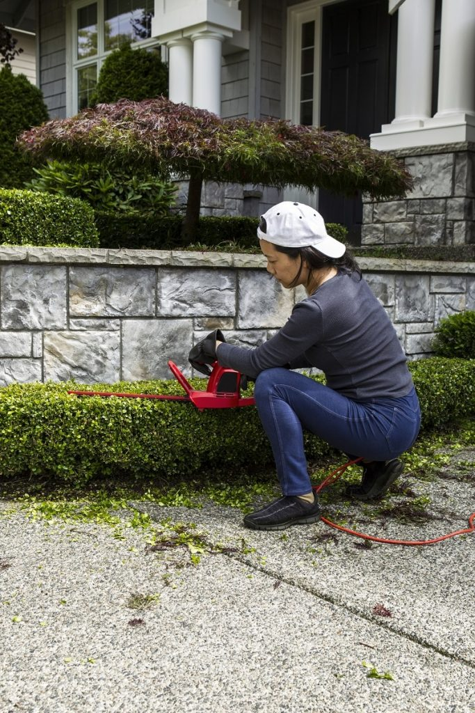 safety tips for trimming hedges and more